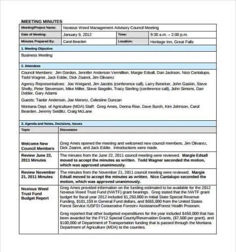 meeting minutes template 1.