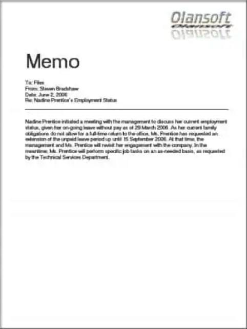 memo-template-8