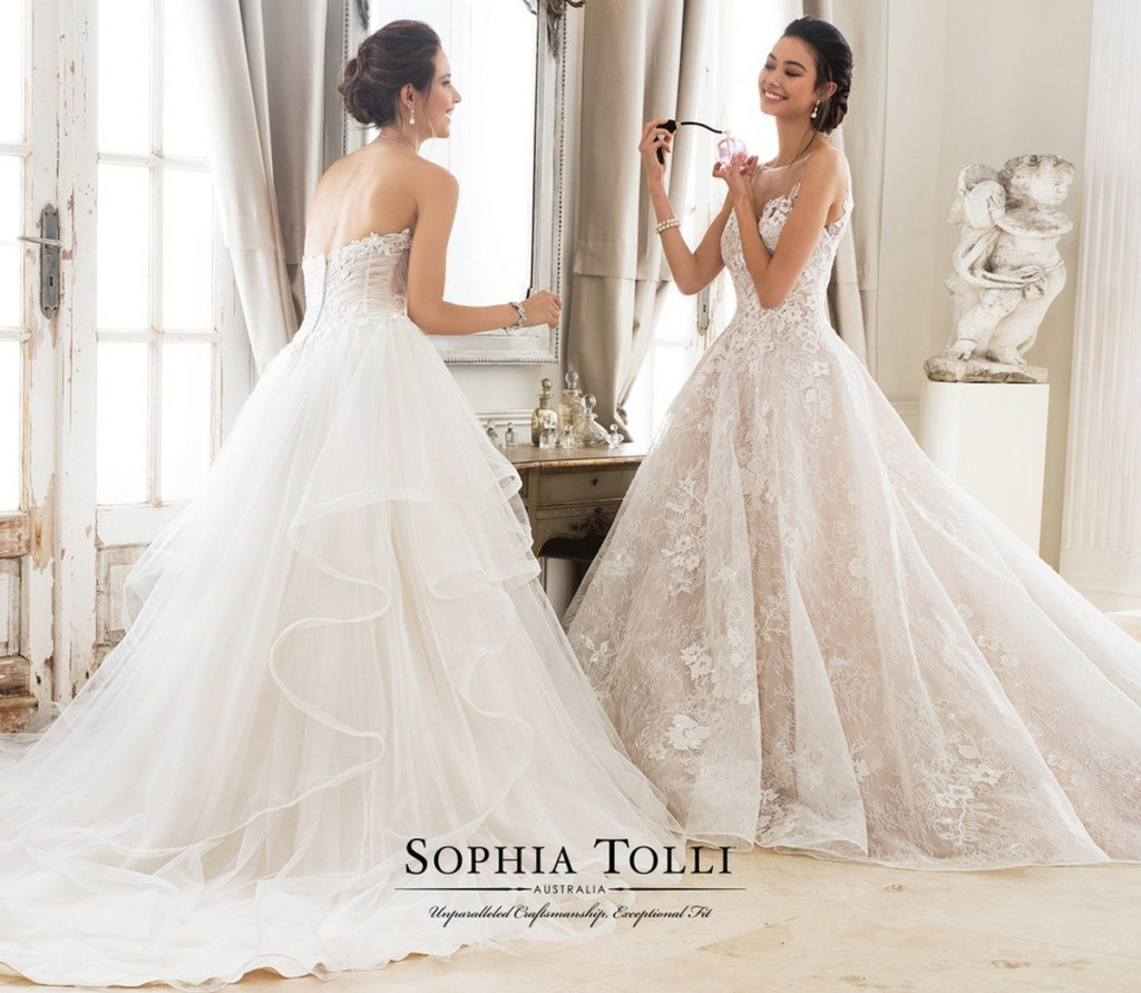 9e33d978de Introducing the new Sophia Tolli collection for Spring 2018! - Find ...