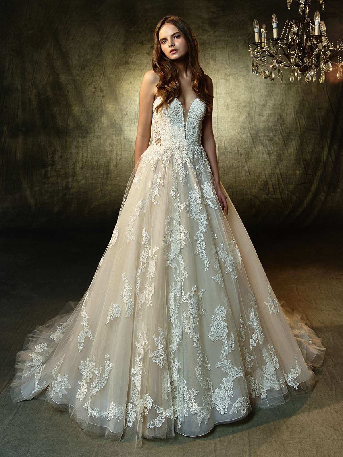Romantic wedding gowns from Blue by Enzoani