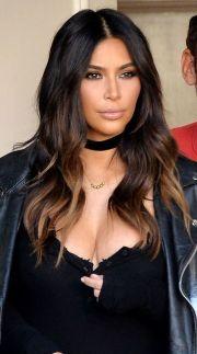 kim kardashian hairstyles latest