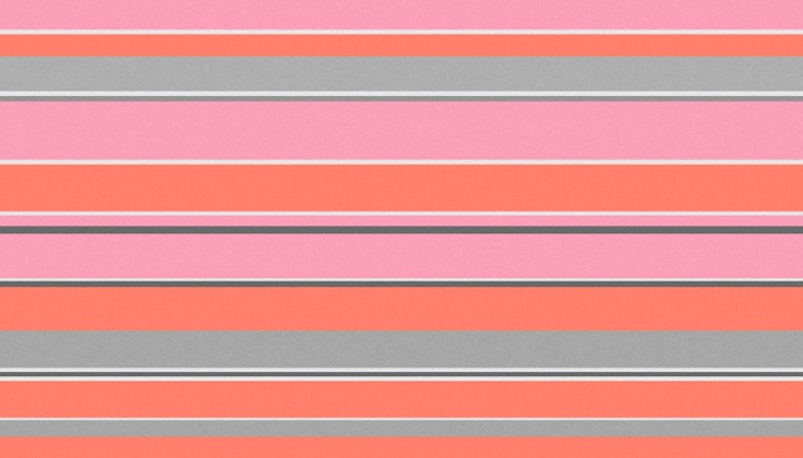 Interior Design Pink Stripe Abstract