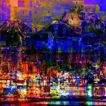 City Art Cityscape Dark City Lights