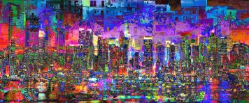 City Art Cityscape Dark City