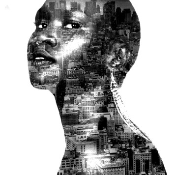 Digital Art Portraits Alek Wek