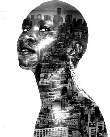Digital Art Portraits Alek Wek