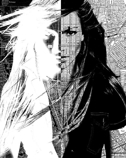 Digital Art Portraits Jennifer Lopez
