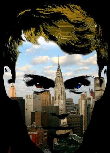 Cityscape Portrait Art