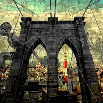 Run CIty Art Cityscape