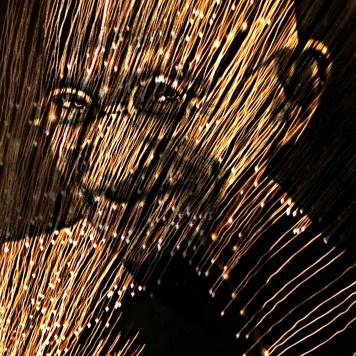 Gandhi Portrait Art