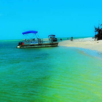 Naples Beach Boat