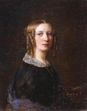 portrait with side-curls