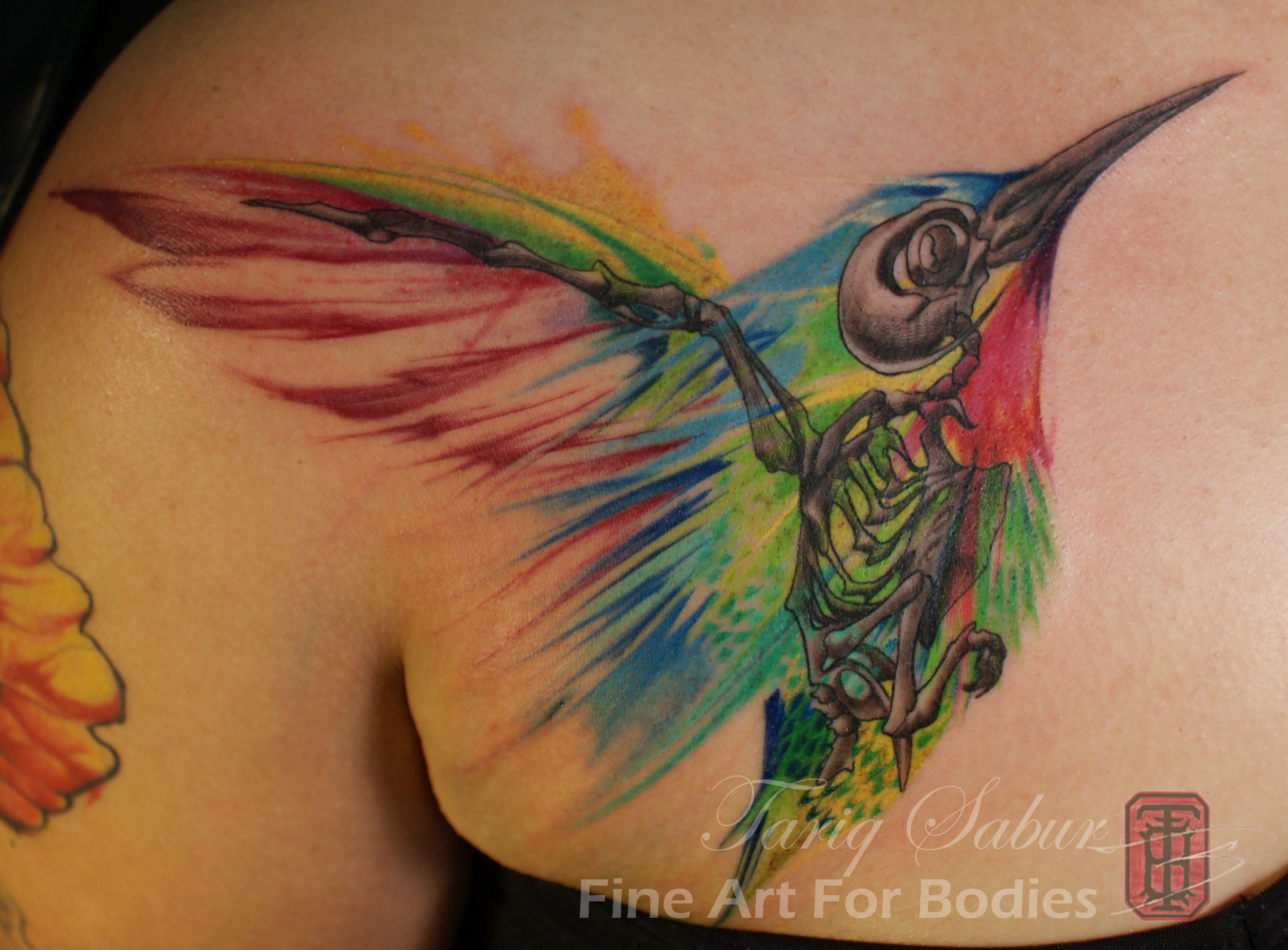 Fine Art Abstract And Watercolor Tattoos Fine Art For Bodies