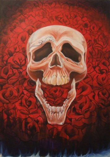 Sabur- Rose skull v1small