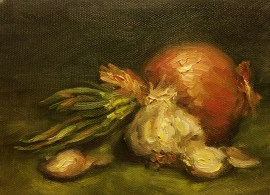 Time To Cook Fine Art Oil Painting
