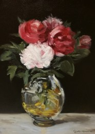 Bouquet of FlowersManet Floral Duplication Fine Art Oil Painting
