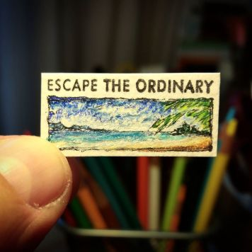 Escape The Ordinary Kate Spade Stamp