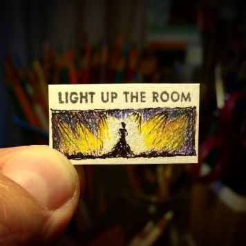 Light Up The Room Kate Spade Stamp