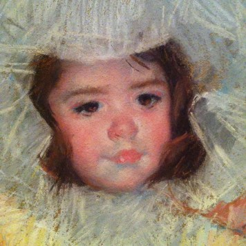 Mary Cassatt Reine Lefevre and Margot