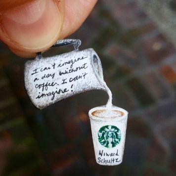 Starbucks Latte Howard Schultz Quote