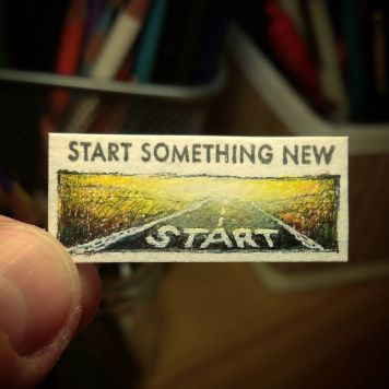 Start Something New Kate Spade Stamp