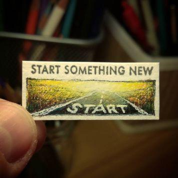 Start Something New Kate Spade Stamp