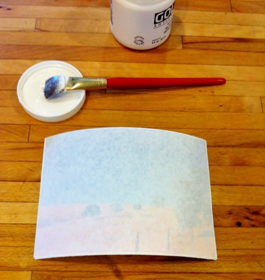 Inkjet photo transfer art project