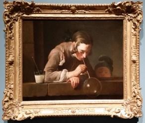 LACMA Chardin Painting Bubble Blower