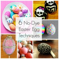 6 No-Dye Easter Egg Techniques