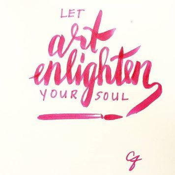 Art Enlightens