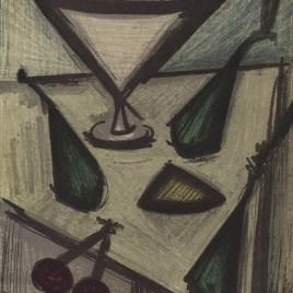 """Buffet Bernard  """"Still life with fruits"""""""