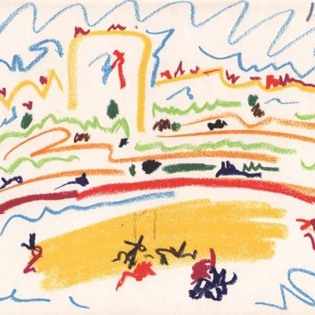 Picasso_Toros_4_dated_1-8-57