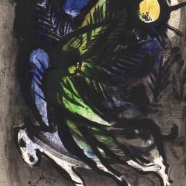 """Chagall Marc, """"L'ange"""" 1960"""