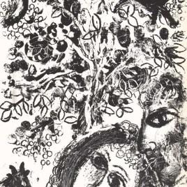 """Chagall Marc, """"Le couple devant l'arbre"""""""