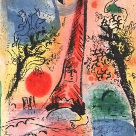 """Chagall Marc, """"Vision de Paris"""""""