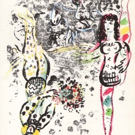 "Chagall Marc, ""Acrobats at play"""
