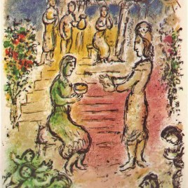 "Chagall Marc, ""Alcinous' Palace -1989 Odyssea V1"""