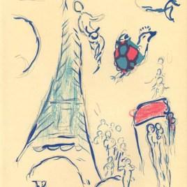 """Chagall Marc, """"Angel of Mozart"""""""