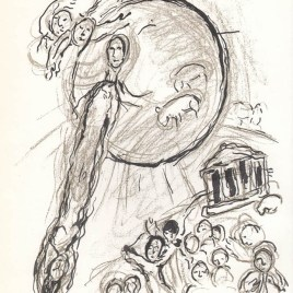 "Chagall Marc, ""Untitled Sketch 3"""