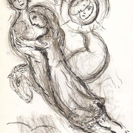 "Chagall Marc, ""Untitled Sketch 5"""