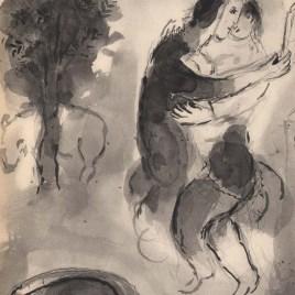 "Chagall Marc, ""Perronnelle ou la femme avisee"""