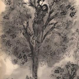 "Chagall Marc, ""Le poirier enchante"""