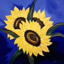 "Absi Grace, ""Sunflowers"""