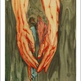 "Dali Salvardor, ""Hell 16 – The mount of geryon"""