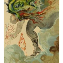 "Dali Salvardor, ""Hell 31 – The giants"""