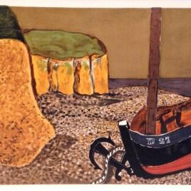 "Braque Georges, ""La barque D27, 1929"""