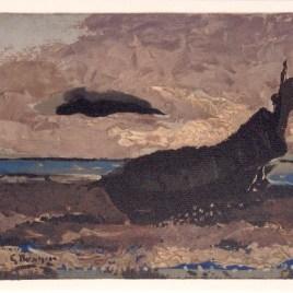 """Braque Georges, """"La barque echouee 1955"""""""