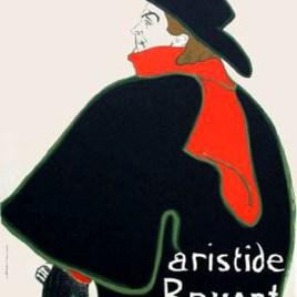 """Lautrec Henri de Toulouse, """"Bruant dans son cabaret"""""""