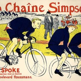 """Lautrec Henri de Toulouse, """"La Chaine Simpson"""""""