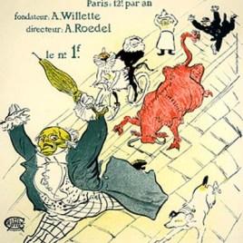 """Lautrec Henri de Toulouse, """"La vache enragee"""""""